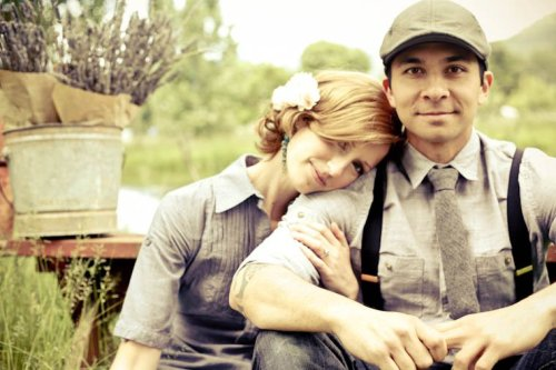 Husband and wife team Matthew Domingo and Erin Daugherty of Farm to Fork Events, Farm Dinners Celebrating Oregon's Farmers, Winemakers, Food Artisans, and Local Food Community